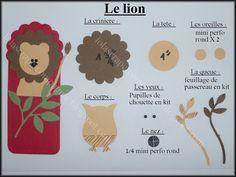 Lolascrap et compagnie: Tuto punch art : animaux de la savane