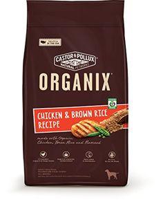 Organix Chicken & Brown Rice Recipe Dry Dog Food, 25-Poun...