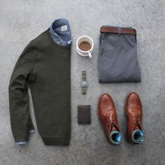 "4,244 Likes, 23 Comments - Allen Walker (@awalker4715) on Instagram: ""☕️⌚️ Boots: @orzhaus Shirt/Sweater: @jcrewmens Pants: @forever21men Wallet: @baurdi Watch: @omega"""
