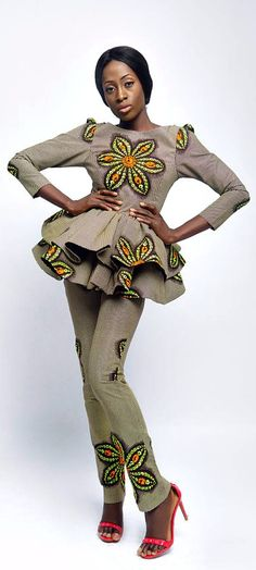 This item is part of the SS17 ZiziBespoke Swing Collection and can be worn in 4 different ways. Yellow Print Blazer and High Waist Trouser// Yellow Blazer, High Waist Trouser, Ankara Blazer and Trouser, African Print, African Party.   Ankara | Dutch wax | Kente | Kitenge | Dashiki | African fashion | African prints | Nigerian style | Ghanaian fashion | Senegal fashion | Kenya fashion | Nigerian fashion |(affiliate)