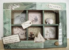 Utes kreative Seite: Maritime Collage