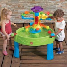 Sand and Water Tables, Sand Play Tables, Water Play Tables Sand And Water Table, Water Tables, Sand Play, Water Play, Best First Birthday Gifts, Kids Sandbox, Outdoor Play Equipment, Toys For Us, Play Table