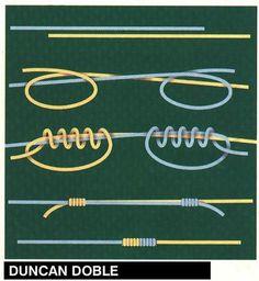 Скользящий узел для регулирования длины браслетов