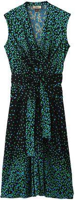 Sleeveless royal dress / POPSUGAR Shopping: Issa(イッサロンドン)ノースリーブプリントロイヤルドレス
