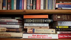 Bibliophobia: A fear of books is a sad fear, indeed.