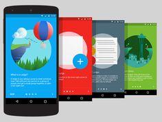 LocalLedge Intro Screens
