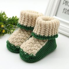 >> Click to Buy << New Baby Shoes Infants Toddler Crochet Knit Fleece Boots Girl Boy Wool Snow Crib Shoes Winter Warm Booties #Affiliate