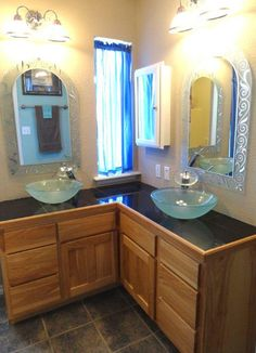 ... Oklahoma. Beautiful updated bathroom with elegant and relaxing decor