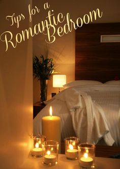 Tips for a Romantic Bedroom - Looking for a getaway that doesn'€™t actually involve you going away? Read these tips to find out how!