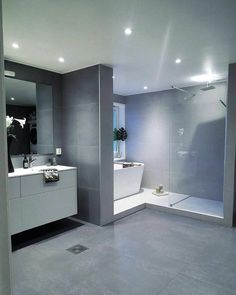 Trendy home interior illustration design 68 Ideas Bathroom Spa, Bathroom Layout, Bathroom Interior Design, Modern Bathroom, Bathroom Grey, Dream Bathrooms, Trendy Home, Bathroom Inspiration, Home Decor