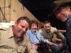 Ferg, Ruby, the new deputy and Walt