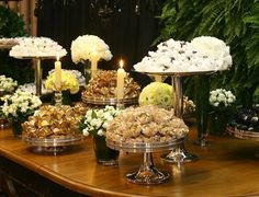 Bride Style 2012: decoração por Lídia Freixo e doces de Carol Melo