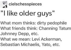 I'm ok with Channing though lol