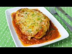 Pui cu parmezan | JamilaCuisine - YouTube Parmezan, Romanian Food, Romanian Recipes, Mozzarella, Kfc, Lasagna, Food Videos, Grilling, Dinner Recipes