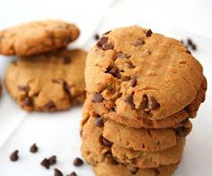 Sunbutter Chocolate Chip Cookies (Healthy Snacks for Kids) | All Day I Dream About Food
