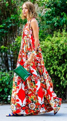 Trendy bohemian street style for summer (23)