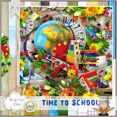 Scrap kit time school