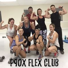 Because on Tuesday's we flex! #p90xwithbryan  #ItsTheMartins