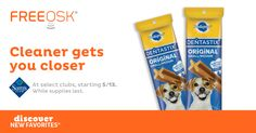 FREE Pedigree Dentastix at Sam's Club with Freeosk