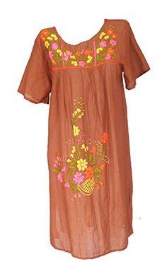 Bonya Women's Embroidered Mexican Tunic Short Dress - Lig... https://www.amazon.com/dp/B01H5Q295U/ref=cm_sw_r_pi_dp_IovzxbN5RN3MK