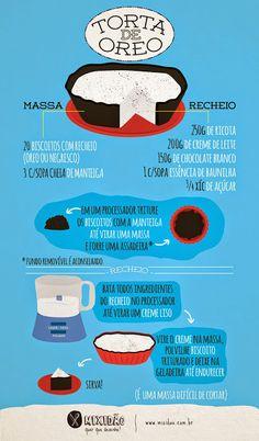 MySecret: TORTA DE OREO Oreo Torta, Eat This, Gifts For Office, Food Illustrations, Diy Food, Chocolate Recipes, Love Food, Sweet Recipes, Food Porn
