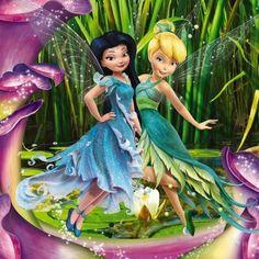 Disney Fairies Redesign - Silvermist & TinkerBell