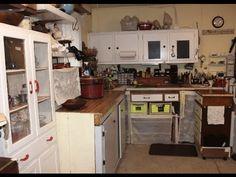 Tour My Antique Processing Organization Work & Storage Space by Dealer D...
