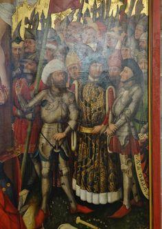 ca. 1455 - 'Crucifixion' (circle of Hans Pleydenwurff), Ba… | Flickr - Photo Sharing!