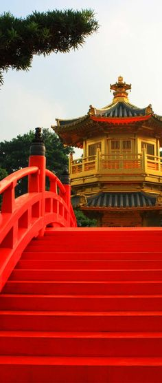 Bright vibrant reds in Hong Kong! Plan your dream trip to  Hong Kong with new travel site, www.carryon.com