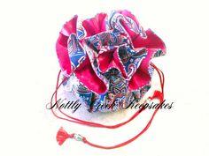 Custom Drawstring Jewelry Pouch Travel Jewelry Case Jewelry
