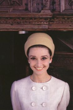 The Fashion of Audrey — The actress Audrey Hepburn photographed by Howell...