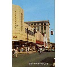 J.J. Newberry & Woolworths, George Street, New Brunswick, NJ