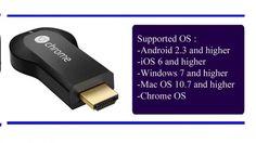 8 Google Chromecast HDMI Streaming Media Player