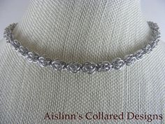 Sweatpea BDSM Collar Choker Necklace by aislinnscollared on Etsy