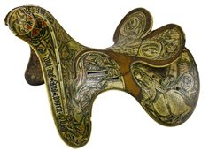 Saddle of Bone (left side), decorated with dragons. Austrian or Hungarian, 1416. Possibly made for the Hungarian Order of the Dragon. Royal Armouries, London