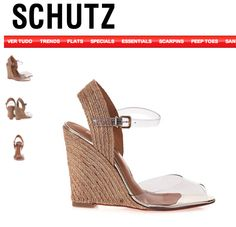 [CLEAR WEDGE] Beautiful wedge sandals  R$300 / US$150 (with taxes/shipping) [acquired =D ]