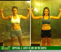 Crystal J. lost 8 lb