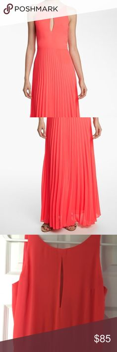 Like Mynded maxi dress size xs coral Beautiful maxi dress size xs. Coral color new with out tags Like Mynded  Dresses Maxi