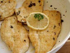 Scaloppine pollo al limone