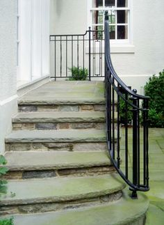 Stair Hand Rails To Be Wrought Iron Stair Railing And Front Porches