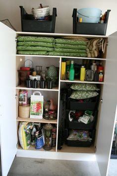 cleaning the garage - tips from @Kim Demmon (today's creative blog) #LowesCreator