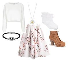 """""""Untitled #31"""" by ru8y18 ❤ liked on Polyvore featuring Bamboo, Topshop, Daisy Jewellery, Jewel Exclusive and Hue"""