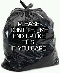 Please network everywhere. We have to tell their story so they dn't end up in a trash bag.