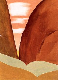 Hand painted reproduction of Canyon 1965 No This masterpiece was painted originally by Georgia O'Keeffe. Museum quality handmade oil painting reproduction oil painting on canvas. Georgia O'keeffe, Wisconsin, Georgia O Keeffe Paintings, Art Premier, Alfred Stieglitz, New York Art, Art Walk, Oil Painting Reproductions, Art Institute Of Chicago