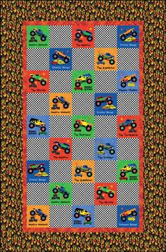 1000 Images About Quilts On Pinterest Monster Trucks