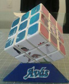 Cubo Rubik Princesas Disney