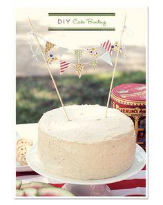 Tutorial para hacer una guirnalda de tarta   Holamama blog