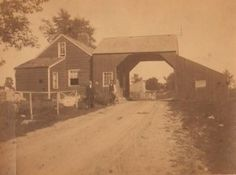 Toll gate on the Cochecton Turnpike, ca. 1900. Collection of Newburgh Historical Society, Newburgh, NY.