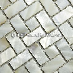pearl shell oyster mosaic decorative wall tile $43~$48