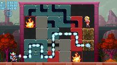Mighty Switch Force! Hose It Down! wayForward Technologies, Inc. 제작 고전게임 같은 느낌의 불끄기 게임 나중에는 너무 어려워져서 하기 싫어진다 ㅋ